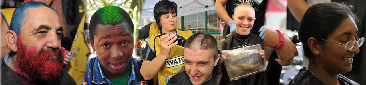 Shave, Spray, Donate your hair