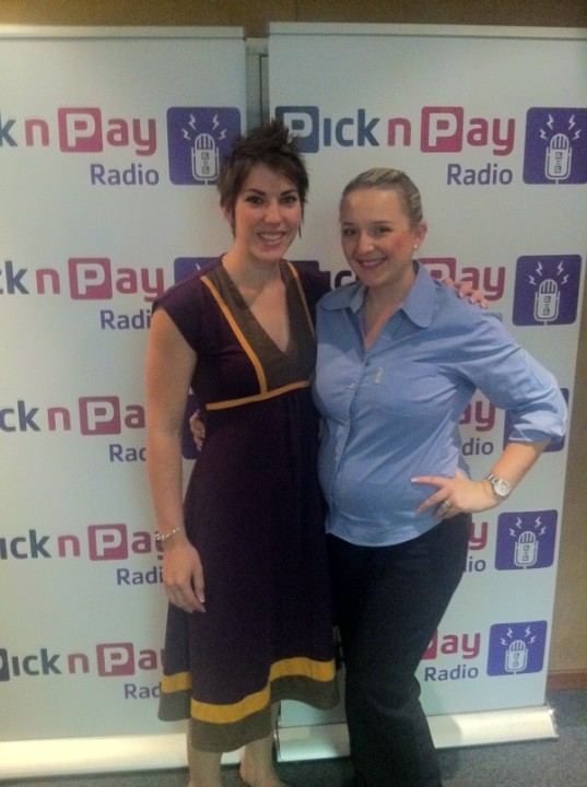 Esti from CANSA and Marzenna Almendro from PnP Radio