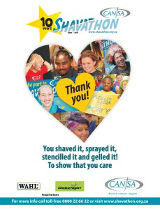 CANSA Shavathon Thank you Pre...