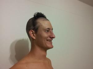 Richard's dare: 4th crazy hairdo