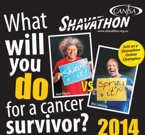 Shave, spray or wrap it at Shavathon 2014
