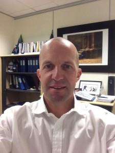 Marc Houze shaved head