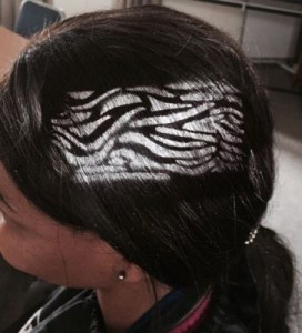 Tiger Stripes gal